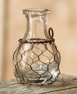 Picture of Mini Chicken Wire Vase
