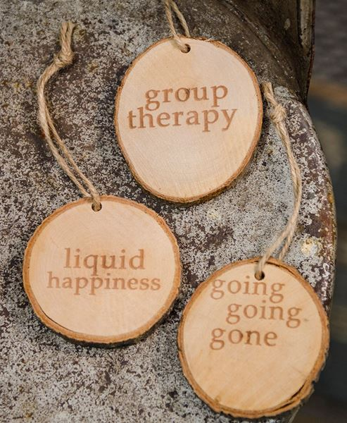 Picture of Wooden Wine Tags, 3/set