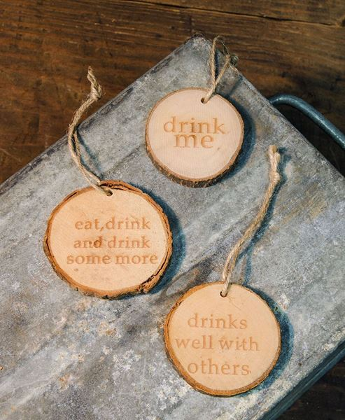 Picture of Drink Wine Tags, 3/set