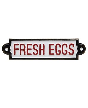 Picture of Fresh Eggs Plaque
