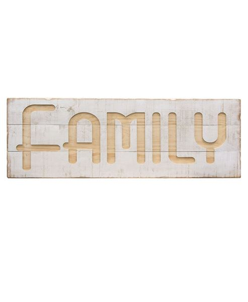Picture of Engraved Family Sign