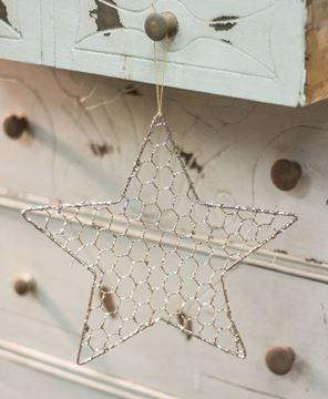 "Picture of Wire Star Ornament, 10"""
