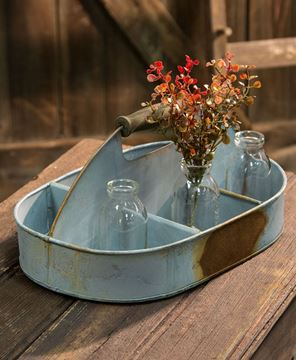 Picture of Galvanized Divided Flower Box