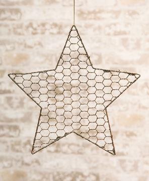 "Picture of Wire Star Ornament, 12"""