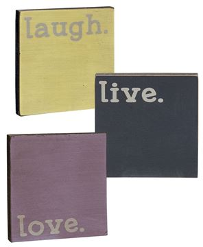 Picture of Live, Laugh, Love Blocks - Set