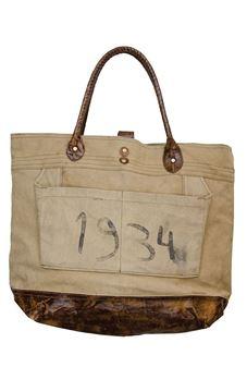 Picture of Vintage 1934 Canvas Handbag