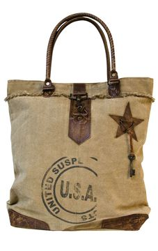 Picture of Vintage USA Canvas Handbag