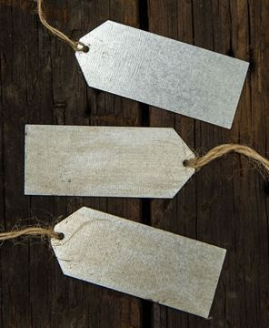 Picture of Galvanized Metal Tag