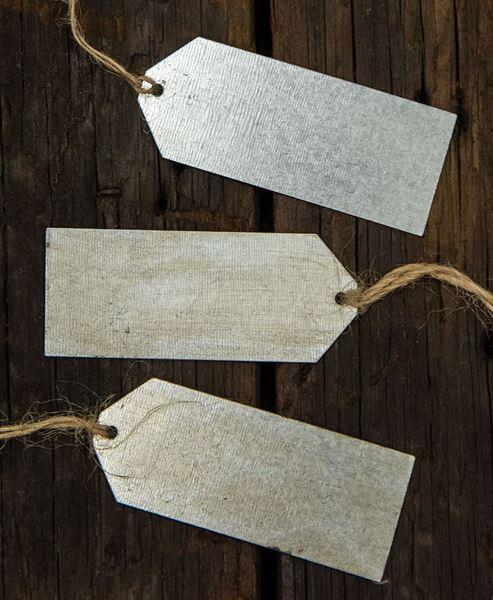 Craft House Designs Wholesale Galvanized Metal Utility Tag