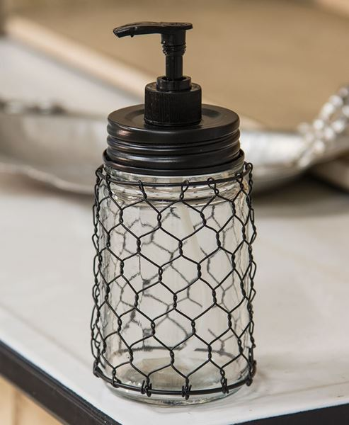 Picture of Chicken Wire Soap Dispenser