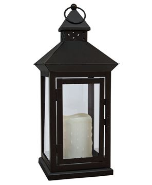 Picture of Flameless LED Timer Lantern