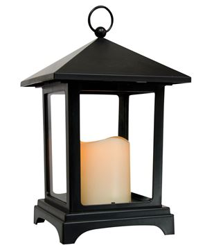 Picture of Black Timer Lantern