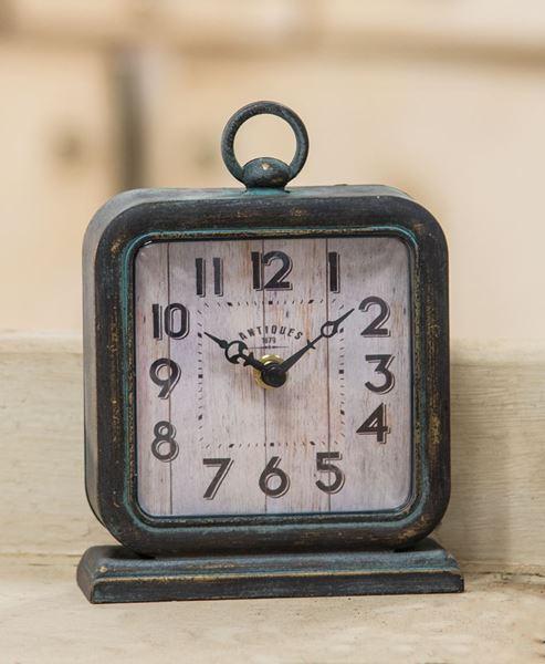 Picture of Antique Pewter Clock