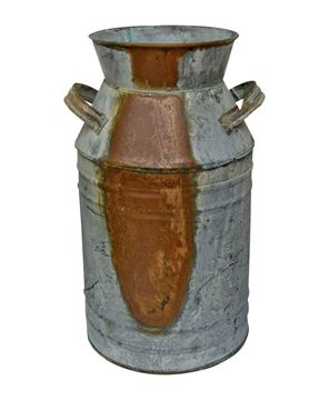 Picture of Galvanized Milk Can, 13""