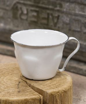 Picture of Vintage Enamelware Coffee Cup