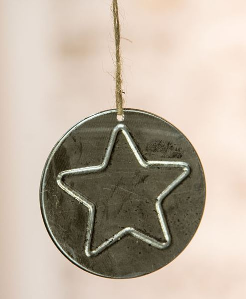 Picture of Metal Star Ornament