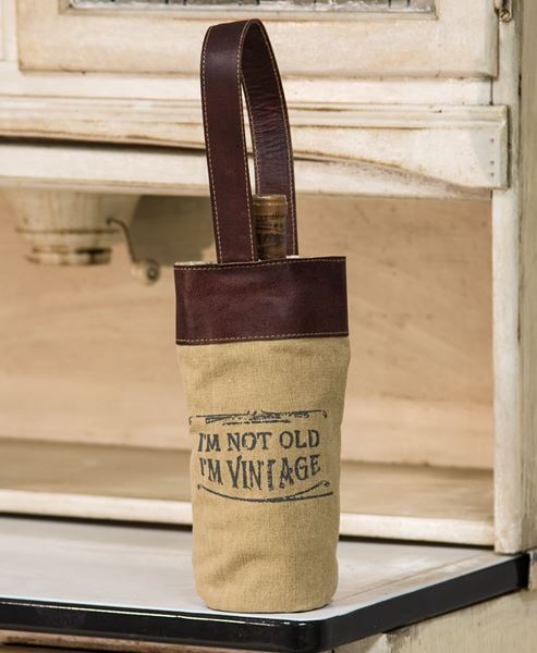 Picture of Vintage Wine Tote
