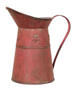 Picture of Aged Red Pitcher