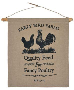 Picture of Fancy Poultry Dowel Hanger