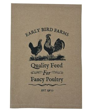 Picture of Fancy Poultry Tea Towel
