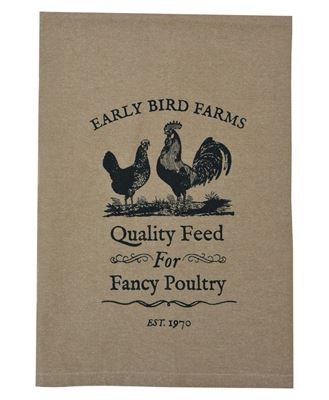 Picture of Fancy Poultry Tea Towel