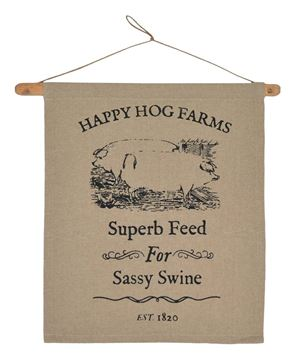 Picture of Sassy Swine Dowel Hanger