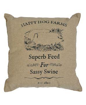 Picture of Sassy Swine Pillow