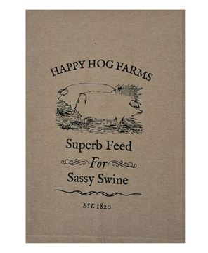 Picture of Sassy Swine Tea Towel