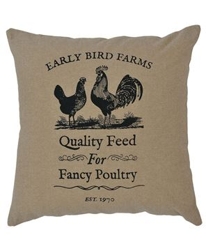 Picture of Fancy Poultry Fabric Pillow Cover