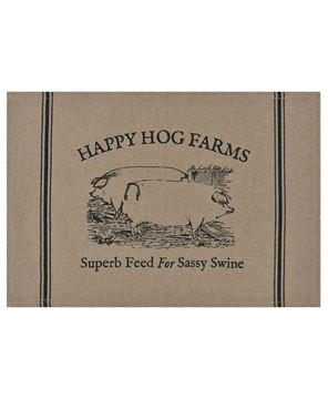 Picture of Sassy Swine Placemat Set