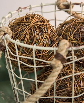 """Picture of Twig Vine Ball, 4"""""""