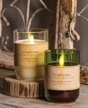Picture of Cabernet Luminara Candle