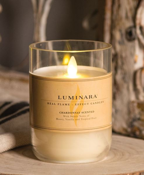 Picture of Chardonnay Luminara Candle
