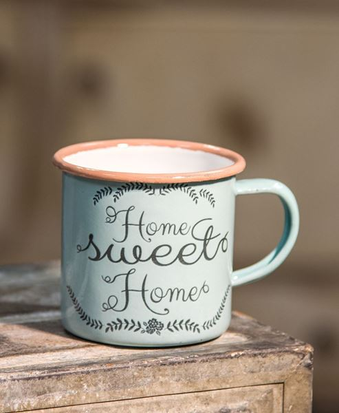Picture of Powder Blue Home Sweet Home Mug, Small