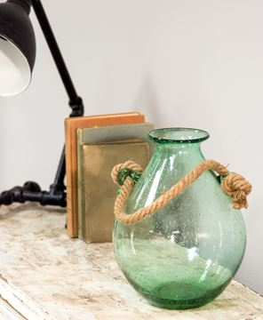 Picture of Aqua Glass Vase