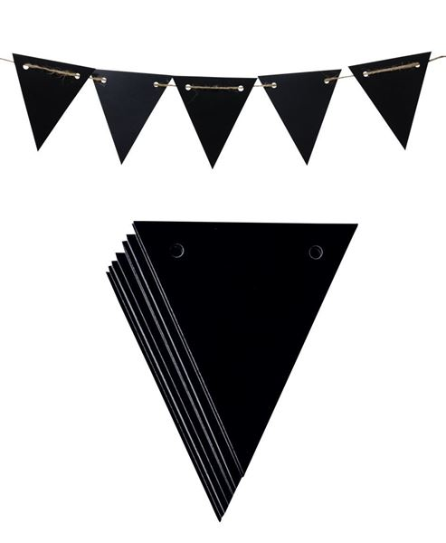 Picture of Chalkboard Pennant Banner