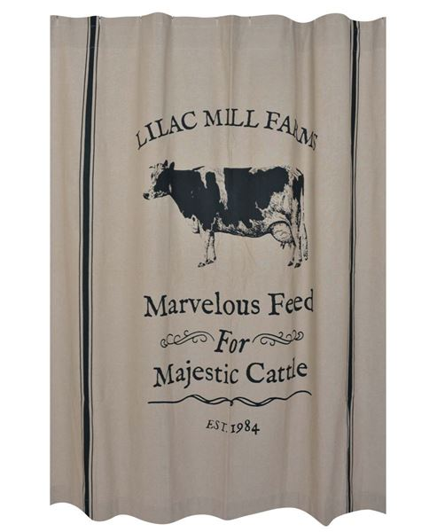 Picture Of Majestic Cattle Shower Curtain