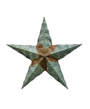 Picture of Galvanized Corrugated Star, 12""