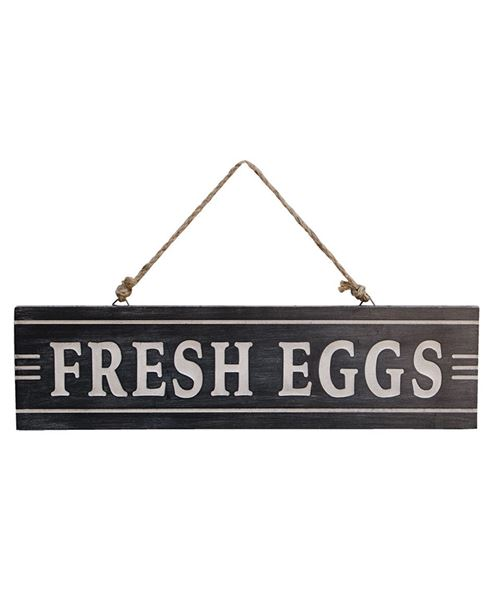 Picture of Engraved Fresh Eggs Sign