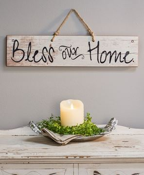 Picture of Bless Our Home Sign