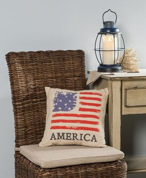 America's Flag Pillow