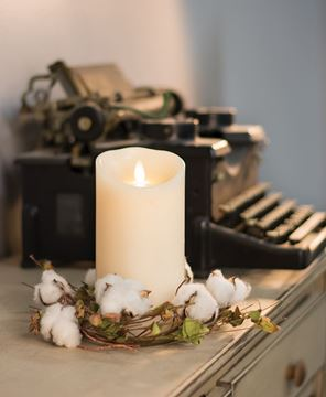 Picture of Wild Cotton Candle Ring