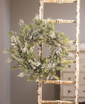 Snowy Cedar Wreath