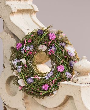 Picture of Mixed Flower Wreath