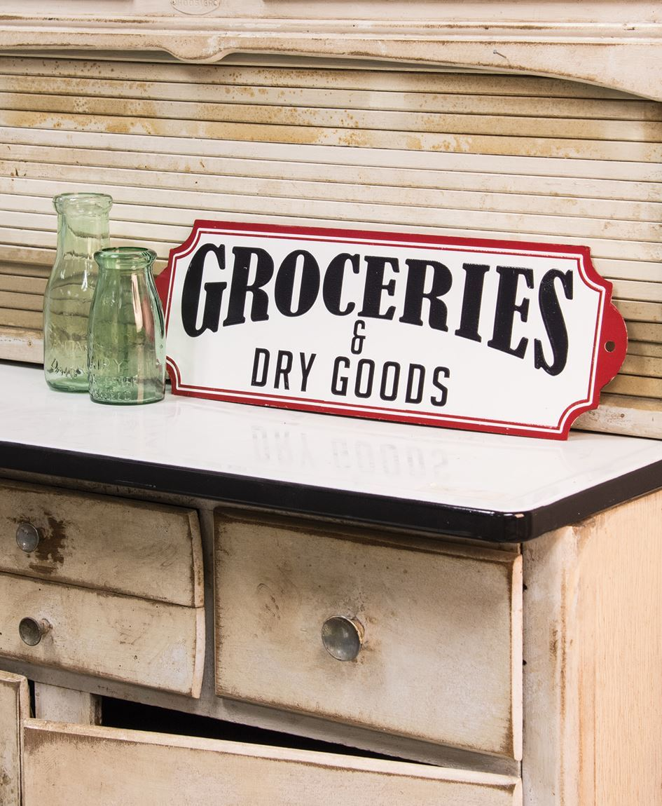 Craft House Designs Wholesale Groceries Amp Dry Goods Plaque