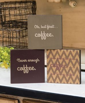 But First Coffee Quote Blocks