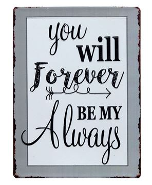Picture of Forever My Always Plaque