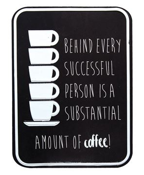 Picture of Substantial Amount of Coffee Sign