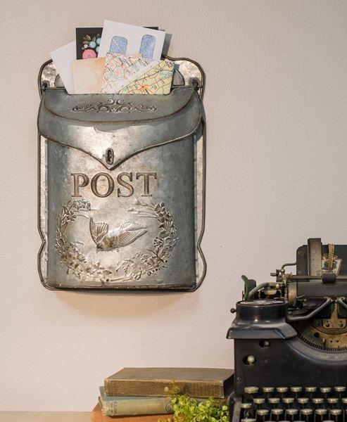 Craft House Designs Wholesale Galvanized Metal Mailbox