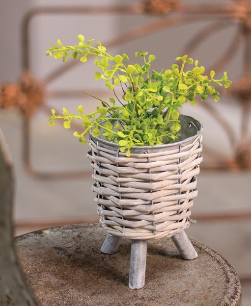 Willow Metal Plant Holder, Small